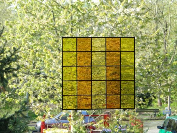Glasbild QUADRO 03, ca. 30 x 30 cm