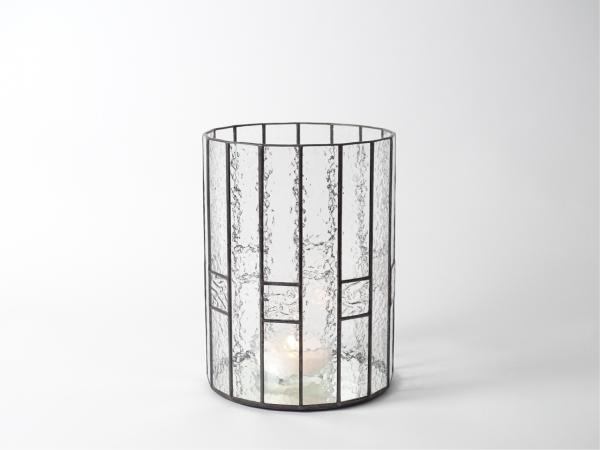 """Candle Holder CHALET clear, 6 x 8"""""""