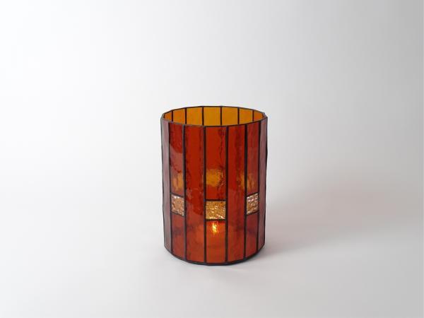 Kerzenleuchter LANDHAUS Bernstein, 16 x 21cm