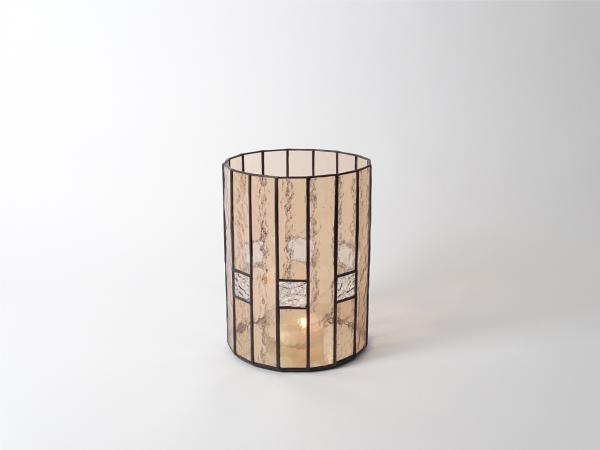 Candle Holder CHALET Champagne, 6 x 8""