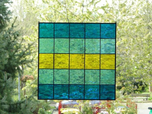 Glasbild QUADRO 04, ca. 30 x 30 cm