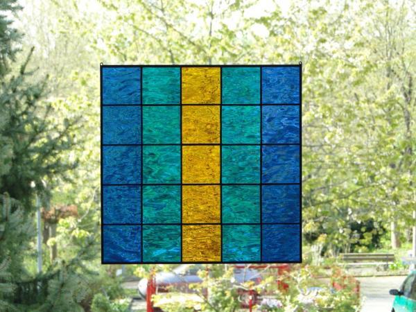 Glasbild QUADRO 01, ca. 30 x 30 cm